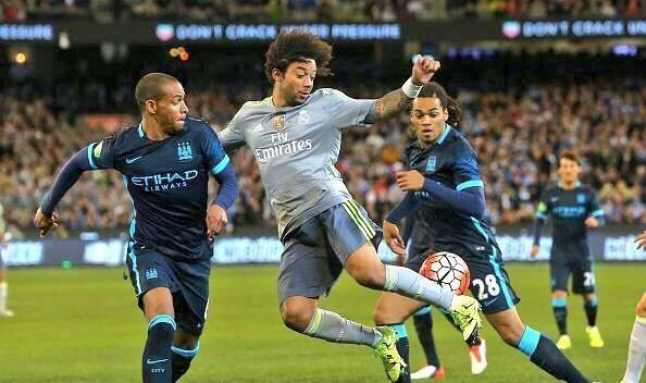 ريال مدريد ضد السيتي