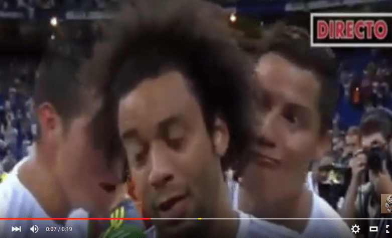فيديو رونالدو و مارسيلو