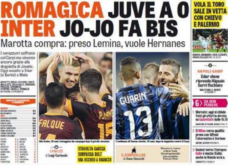 Photo of اهم عناوين الصحف الايطالية اليوم الاثنين 31-8-2015