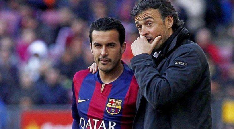 بيدرو و انريكي - برشلونة