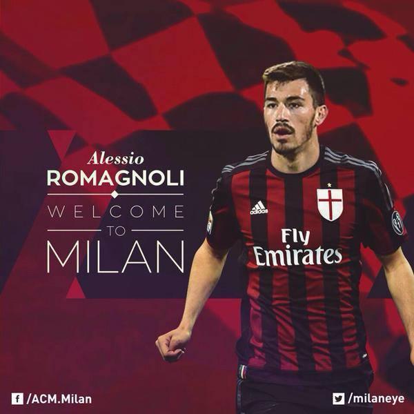 ميلان يتعاقد مع المدافع رومانيولي