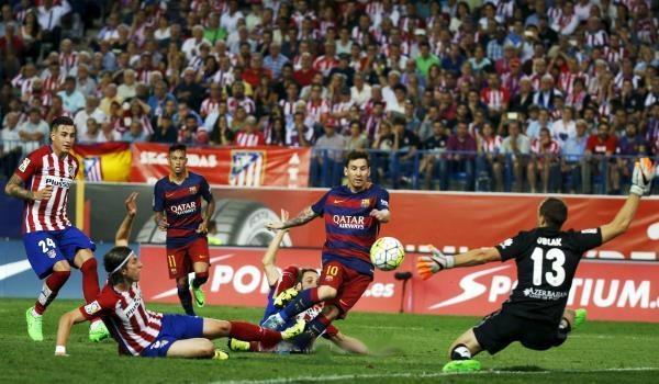 بالفيديو: برشلونه يحصد ثلاث نقاط ثمينة امام أتلتيكو مدريد