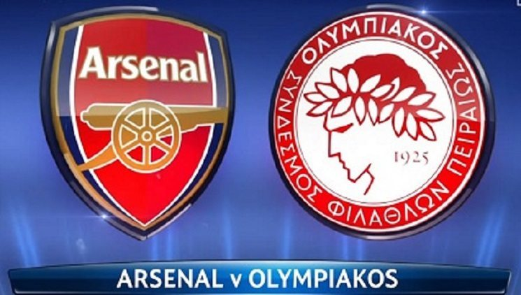 arsenal vs olympiakos - توقيت والقنوات الناقلة لمباراة ارسنال و اوليمبياكوس الثلاثاء 29-9-2015