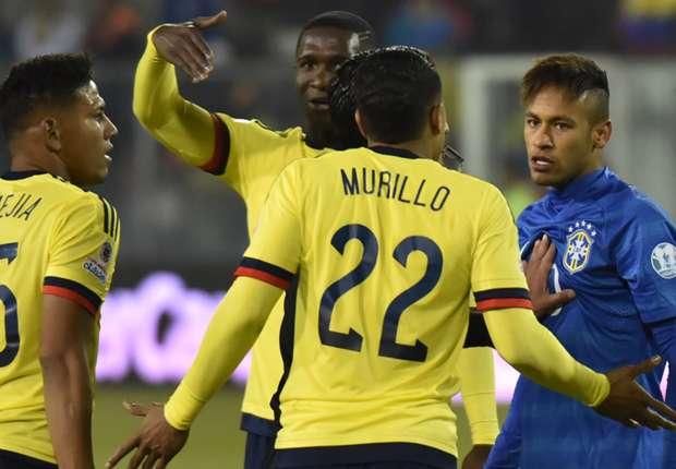 neymar brazil colombia copa america 17062015 1owmgta0uz4c1132gha4suagbg - الاتحاد البرازيلي يرفع قضية نيمار لمحكمة التحكيم الرياضية
