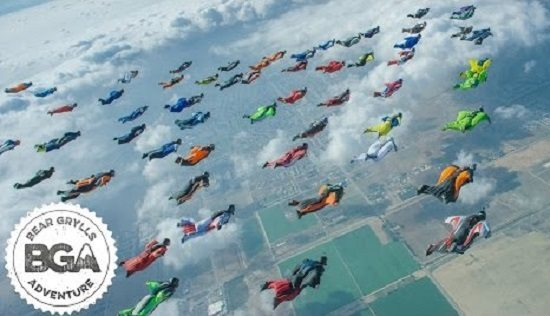 فيديو: تحدي في سماء كاليفورنيا يدخل موسوعة غينس