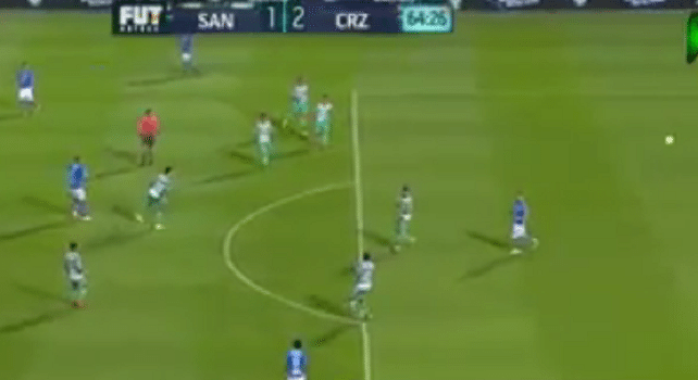 فيديو: هدف على الطاير في الدوري المكسيكي
