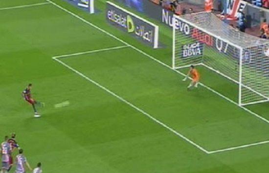 صورة فيديو: اهداف مباراة برشلونة و رايو فاليكانو في الدوري الاسباني