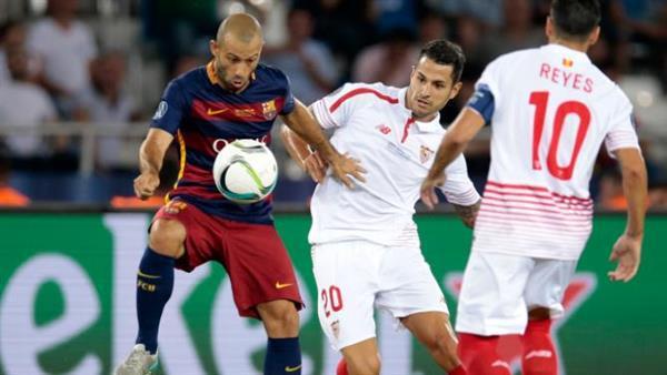 تقييم لاعبي برشلونة بعد الخسارة امام اشبيليه