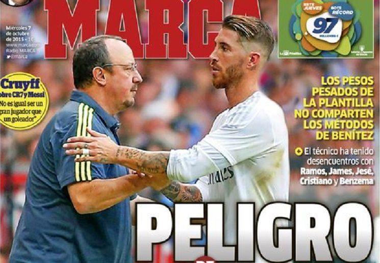 ابرز عناوين الصحف الاسبانية اليوم الاربعاء 7-10-2015