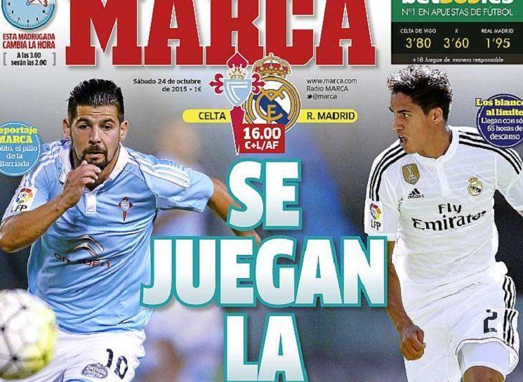 ابرز عناوين الصحف الاسبانية اليوم السبت 24-10-2015