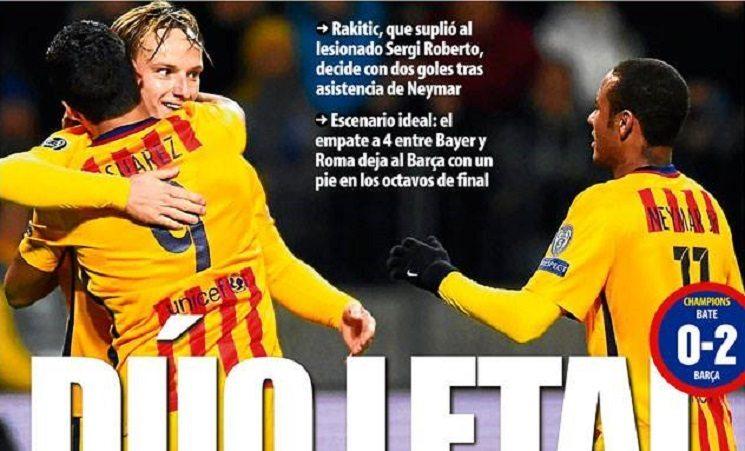 mundo2 - ابرز عناوين الصحف الاسبانية اليوم الاربعاء 21-10-2015