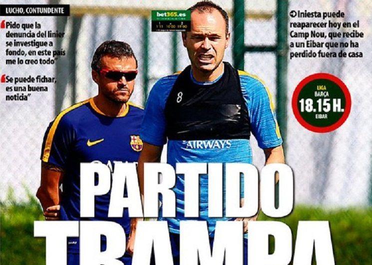 الصحف الأسبانية: ثنائي التهديف و مباراة الفخ