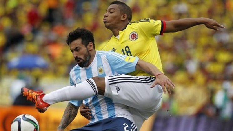 الارجنتين ضد كولمبيا