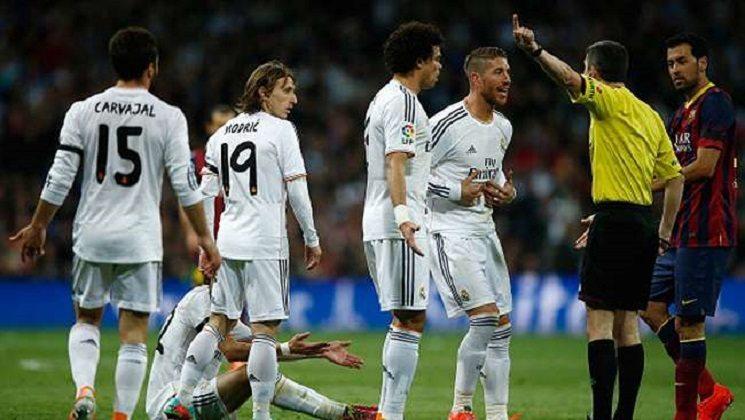 كلاسيكو ريال مدريد و برشلونة
