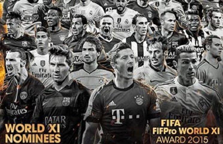 fif PRO - قائمة المرشحين النهائية لفريق اليويفا عام 2015