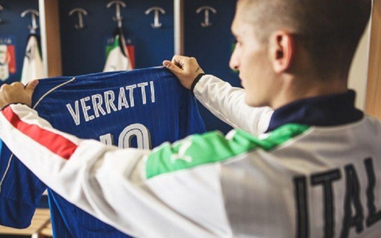 صور: الكشف عن قميص ايطاليا في يورو 2016