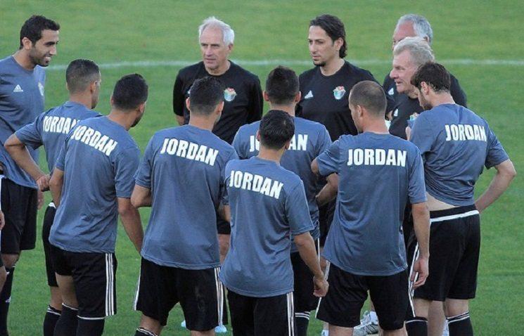 منتخب الاردن لكرة القدم