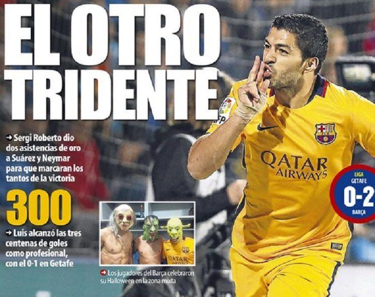ابرز عناوين الصحف الاسبانية اليوم الاحد 1-11-2015