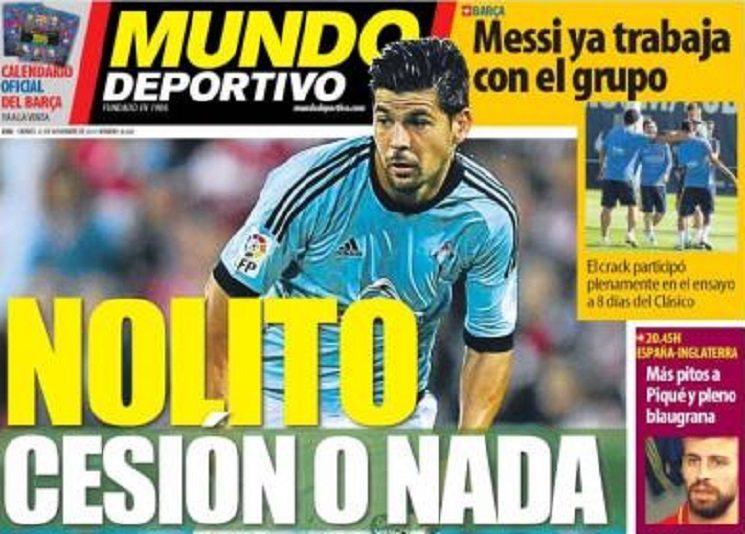 ترجمة عناوين الصحف الاسبانية اليوم الجمعة 13-11-2015