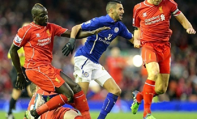 رياض محرز ضد ليفربول
