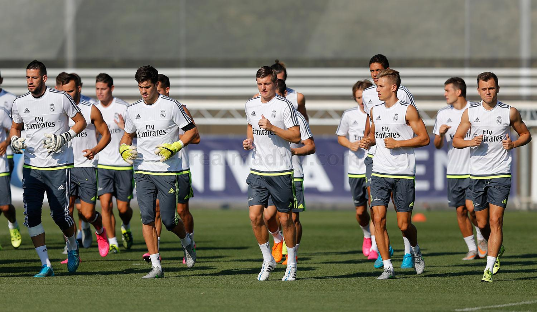تدريبات ريال مدريد لمواجهة خيتافي تشهد غياب ثلاث لاعبين