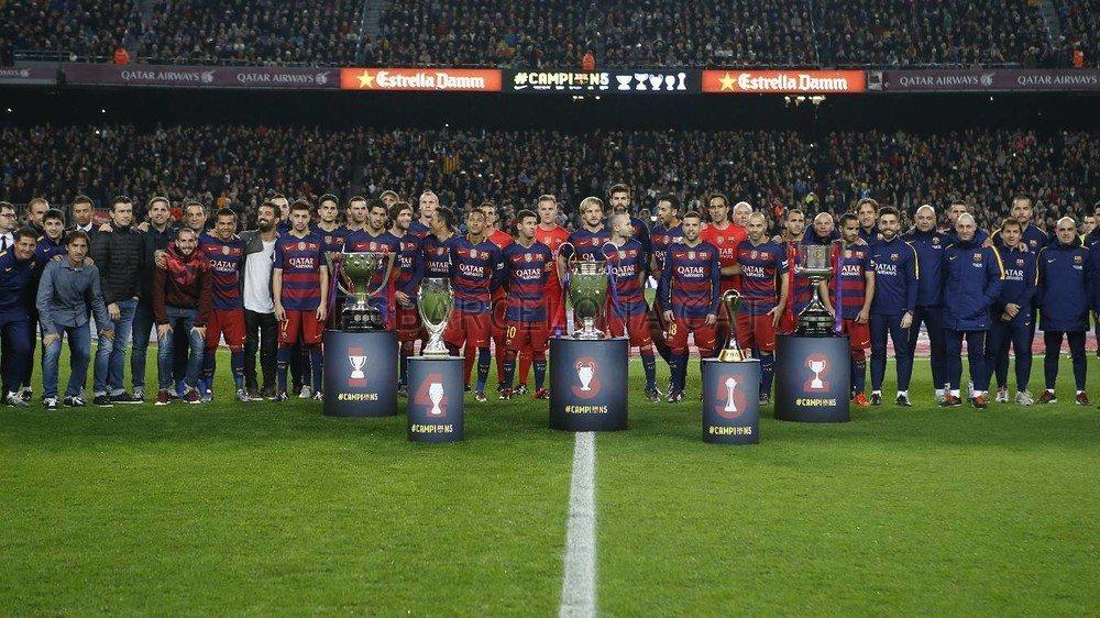 ما هي اكثر نتيجة كررها برشلونة في 2015
