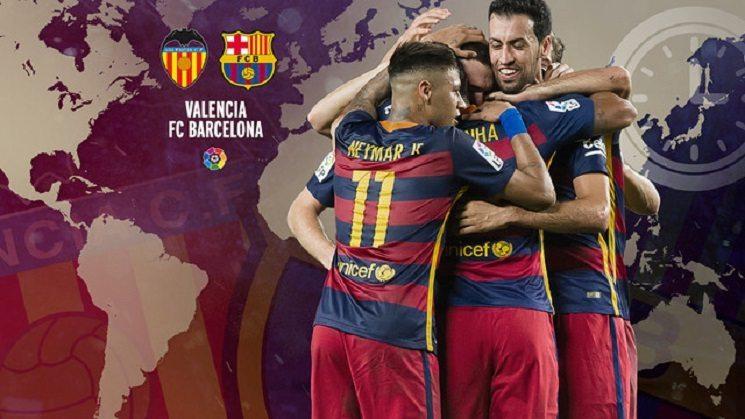فالنسيا و برشلونة