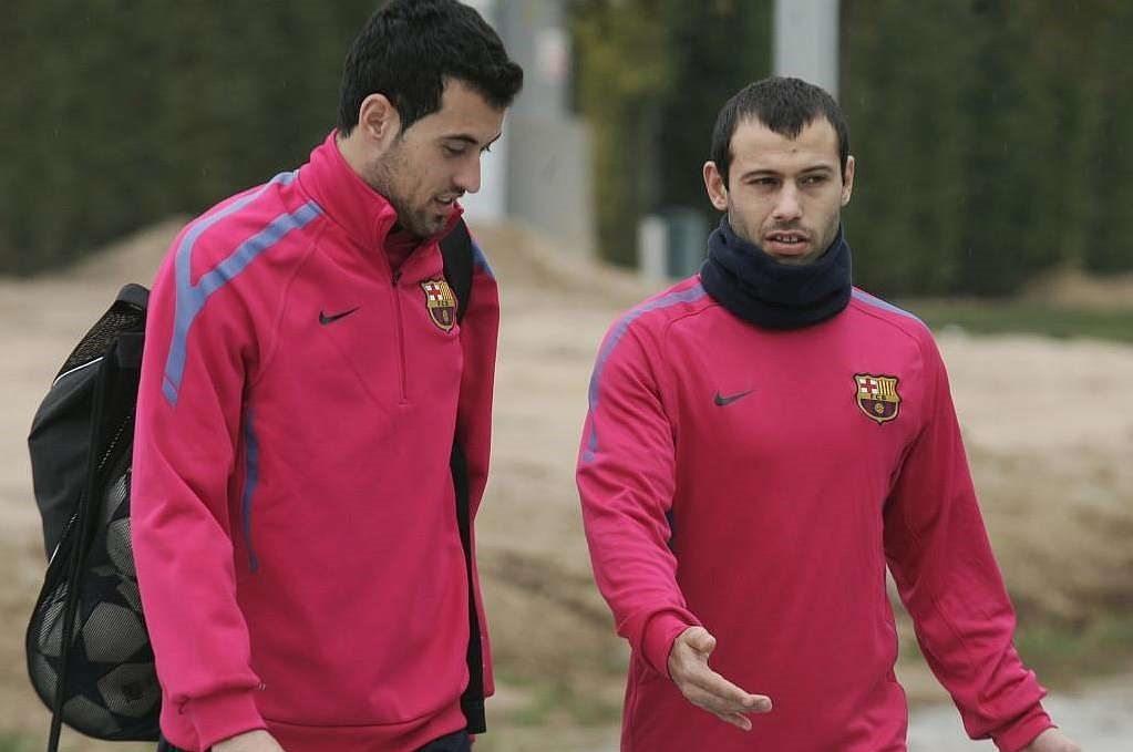 برشلونة يخطط لتجديد عقد الجندي المجهول
