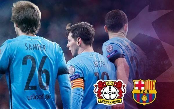 fcb - فيديو: اهداف مباراة باير ليفركوزن و برشلونة في دوري ابطال اوروبا