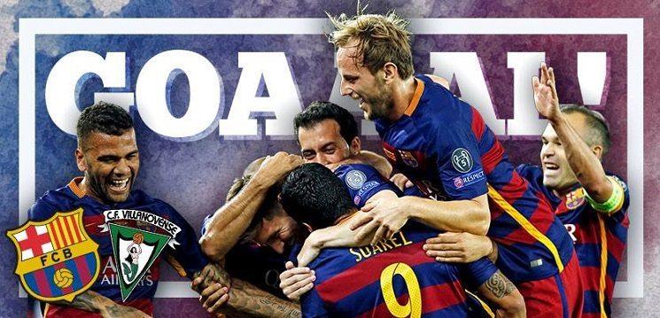 فيديو: اهداف مباراة برشلونة وفيلانوفينسي في كوبا دي ري
