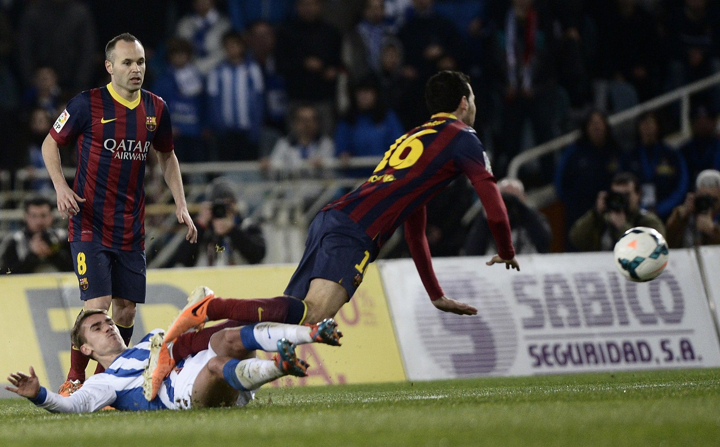 زانيتي يشيد في قدرات قائد برشلونة