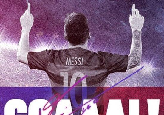 messi 2 - فيديو: اهداف مباراة برشلونة و ديبورتيفو لاكورونا في الليغا