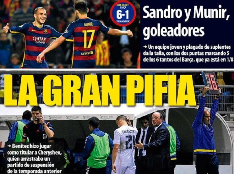 ترجمة اهم عناوين صحف اسبانيا اليوم الخميس 3-12-2015