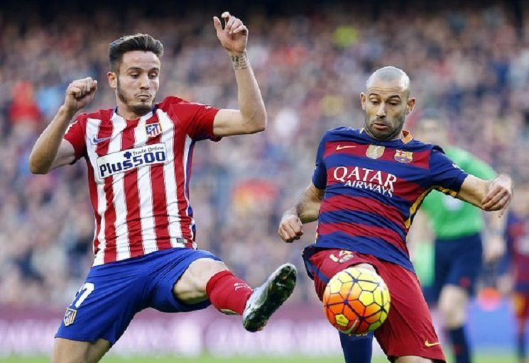 برشلونة و اتلتيكو مدريد
