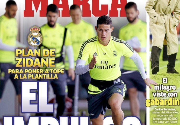 marca 3 - أبرز عناوين صحف اسبانيا اليوم الخميس 14-1-2016