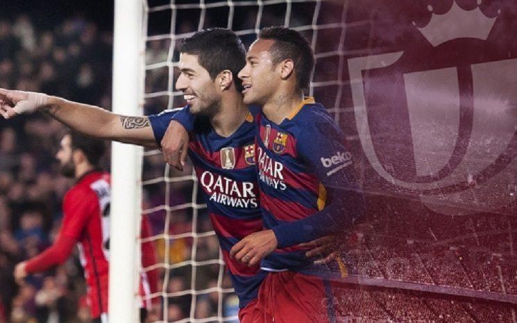 برشلونة كأس ملك اسبانيا - ميسي - نيمار