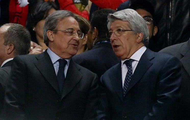 رئيس اتلتيكو و ريال مدريد