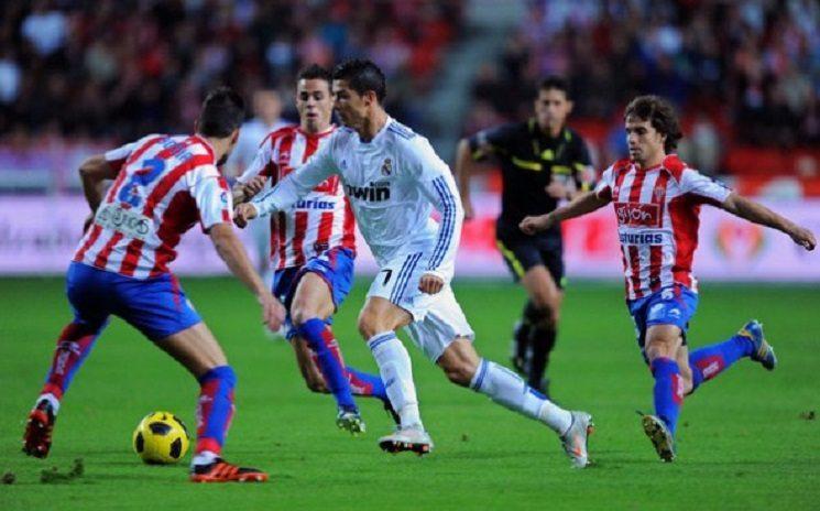 ريال مدريد - خيخون - رونالدو