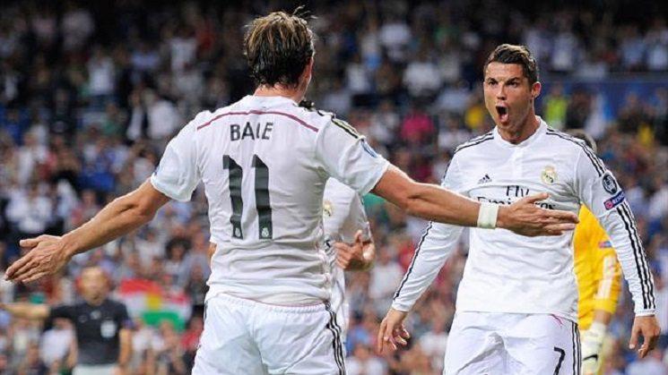 ronaldo bale rm - تشكيلة ريال مدريد الرسمية لمباراة ديبورتيفو لاكورونا