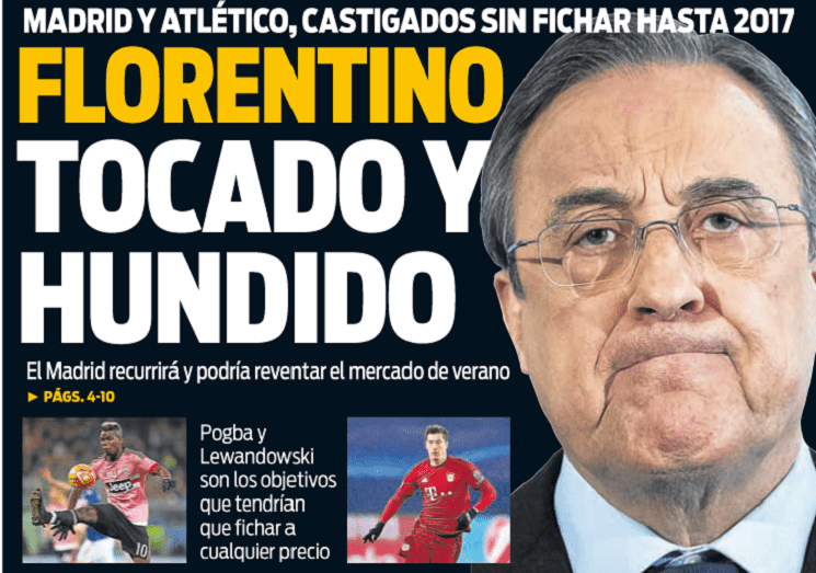 أبرز عناوين صحف اسبانيا اليوم الجمعة 15-1-2016