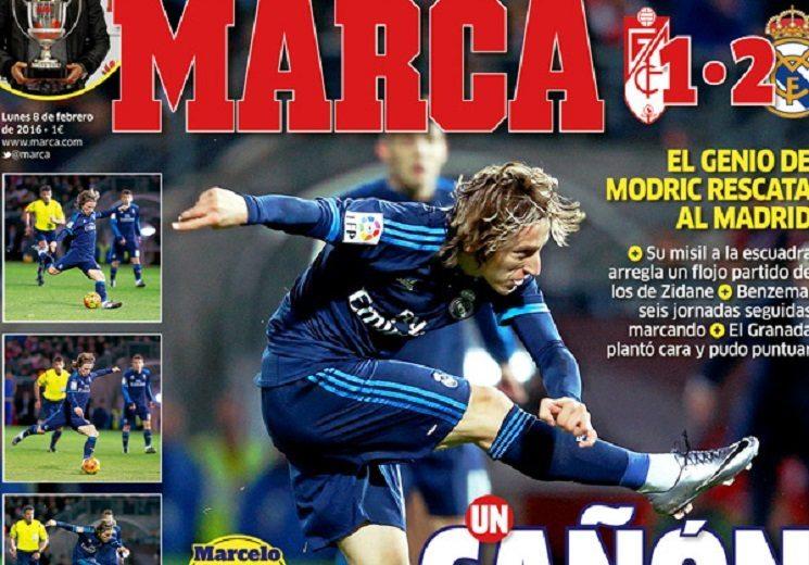 أبرز عناوين صحف اسبانيا اليوم الاثنين 8-2-2016
