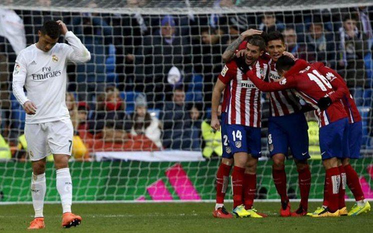اتلتيكو مدريد و ريال مدريد - رونالدو