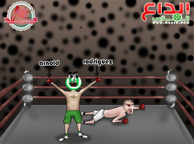 1FgyHT9 - كاريكاتير: فولفسبورغ يضرب زيدان و ريال مدريد