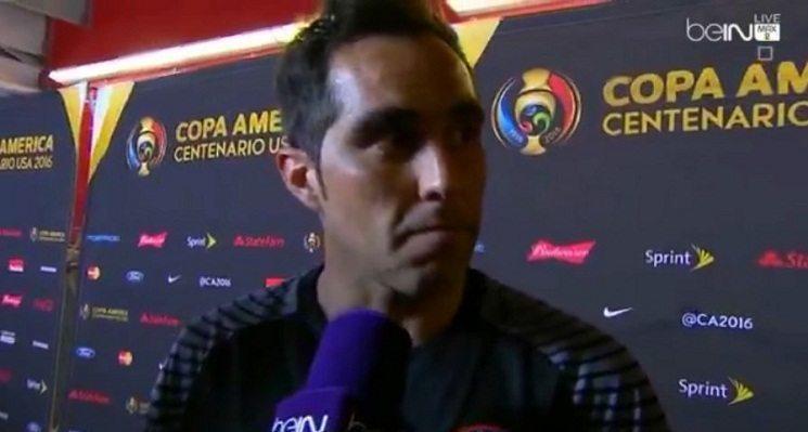 """10 8 - رد فعل كلاوديو برافو على خسارة المكسيك """" 7 – صفر """" امام تشيلي"""