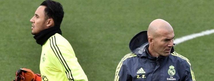 Photo of مستقبل نافاس بيد زيدان في ريال مدريد