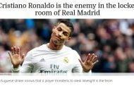 عدو جديد لكريستيانو رونالدو في غرفة ملابس ريال مدريد