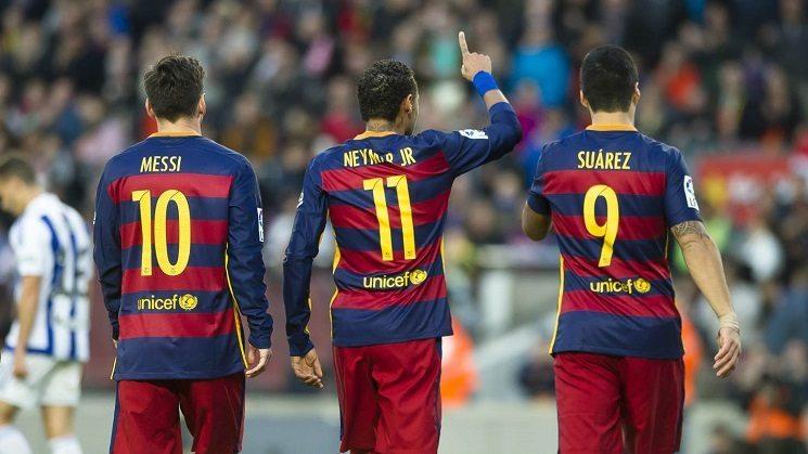 برشلونة بدون 9 لاعبين امام ليستر سيتي