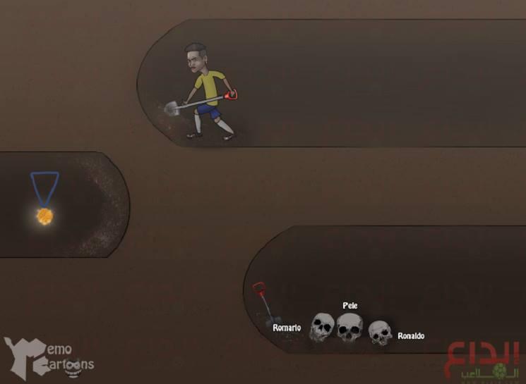 13900467 1162111030521890 912966199 n 1 - كاريكاتير بالجول: نيمار يحفر نفق الذهب بعد فشل الأساطير