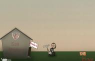 كاريكاتير إبداع الملاعب: برشلونة يخطف 3 نقاط ثمينة من ملعب السان ماميس