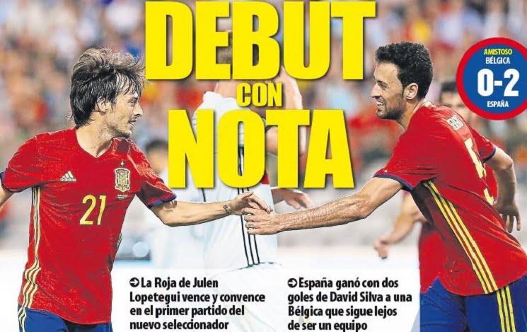 mundo 1 - أبرز عناوين صحف اسبانيا الصادرة اليوم الجمعة 2-9-2016